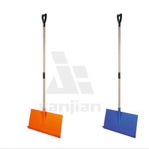20-Inch Snow Shovel/Pusher Combo with Wear Strip and D-Grip Handle pictures & photos