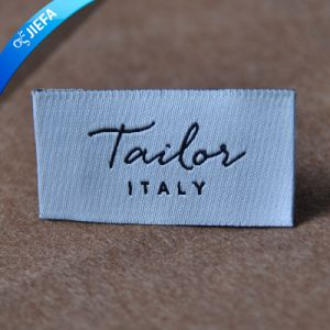 Custom Made in China Woven Label for Appeal pictures & photos