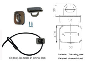 Computer Lock, Cable Lock, Laptop Lock, Desktop Lock Al-2000-03 pictures & photos