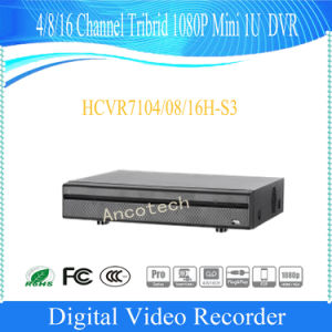 Dahua 4 Channel 1080P Mini 1u Tribrid DVR (HCVR7104H-S3) pictures & photos