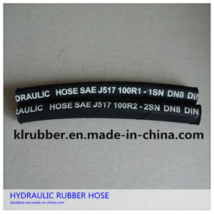 1sn/2sn Flexible Corrugated 2 Inch Hydraulic Rubber Hose pictures & photos