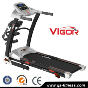 Small Manual Incline Home Treadmill with 5 Inch LCD Display