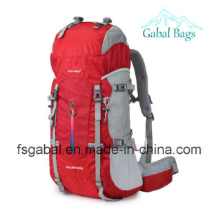 Outdoor Mountain Climbing Sports Bag Traveling Camping Backpack pictures & photos