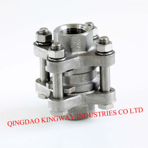 Stainless Steel Spring Vertical Check Valve, Threaded pictures & photos