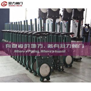 Ductile Iron Wafer Type Knife Gate Valve pictures & photos