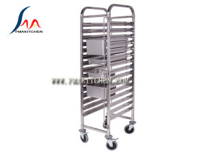 Stainless Steel Gn Pan Trolley pictures & photos
