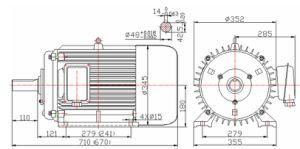 1500rpm Permanent Magnet Generator 30kw 50Hz pictures & photos