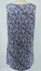 Knit Stringy Selvedge Printed Ladies Dress pictures & photos