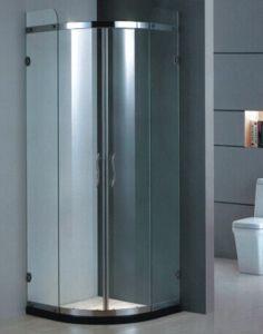 Top Sale Tempered Glass Aluminum Framed Bathroom Shower Box/ Shower Enclosure (H001D) pictures & photos