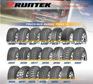 All-Steel Truck Tyre 295/80r22.5, 13r22.5, 12r22.5, 315/80r22.5 Ak97 Safecess TBR Tyre, Runtek Heavy Truck Tyre pictures & photos