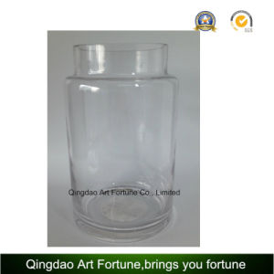 Clear Glass Hurricane Vase for Home Decor pictures & photos