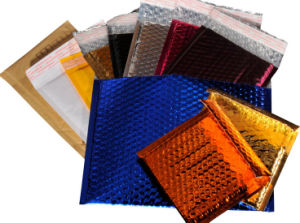 Colorful Metallic Aluminum Foil Bubble Shipping Bags pictures & photos