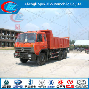 Heavy Duty Dongfeng Sinotruk 6X4 10-Wheel 270HP 18m3 10t 15ton Dump Truck pictures & photos