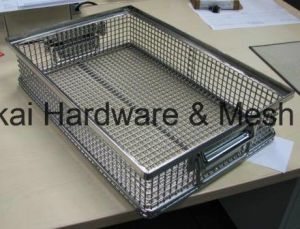 Auto Parts, Stampling Parts, Electric Products Degreasing Basket pictures & photos