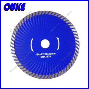 Hot Pressed Turbo Wave Diamond Saw Blade for Granite pictures & photos