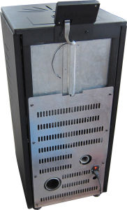 Ce Certified Automatic Feeding and Ignite Wood Pellet Stove with Remote Control pictures & photos