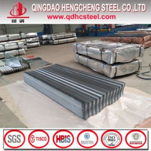 Antifinger Print Galvalume Corrugated Sheet Roof Panel pictures & photos