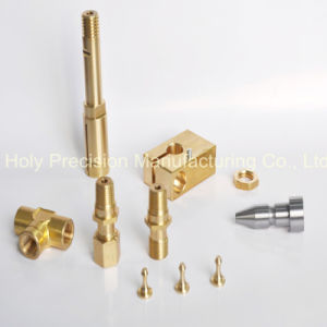 Machining with Material of Brass and Aluminum pictures & photos