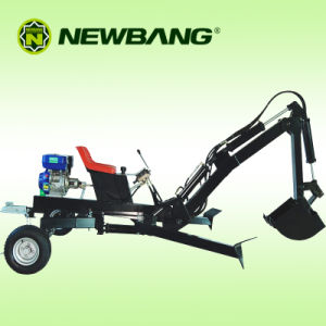Gasoline Backhoe with 9HP Engine pictures & photos