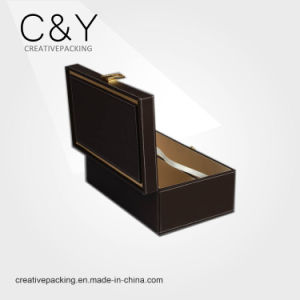 Wholesale Portable PU Leather Handmade Packaging Wine Box for Gift pictures & photos