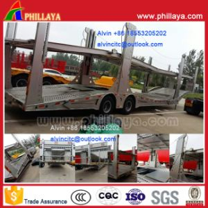 2 Axles Double-Deck-Loading Car Transport Semi Trailer pictures & photos