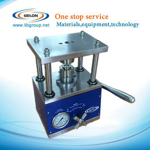 Lithium Button Cells Lab Equipments--Cr20xx Series Coin Cells Crimping Machine (GN-110) pictures & photos