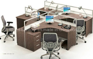 2015 Hot Sale Office Furniture Brown Modern Partition Table (JO-7025)