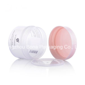 15g Matte Finish Clear Plastic PP Jar with Screw on Cap Gift Cream Jar pictures & photos