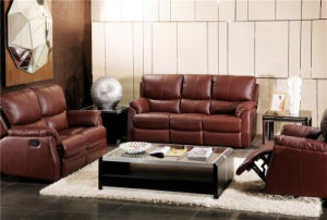 Electric Recliner Sofa USA L&P Mechanism Sofa Down Sofa (725B#) pictures & photos