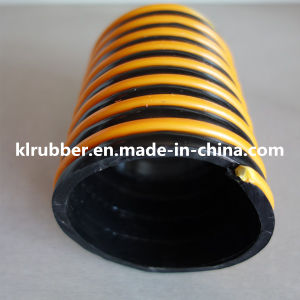 Winding Ribbed Reinforced PVC Spiral Hose for Discharge Grit pictures & photos