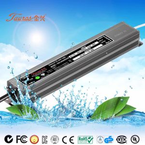 High Pf Constant Voltage 30W 24V Waterproof LED Driver VAS-24030d035