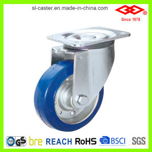 200mm PU Swivel Locking Heavy Duty Caster (P160-13F200X45S) pictures & photos