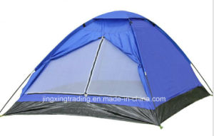 180t Polyester Single-Skin Camp Tent for 2 Persons (JX-CT017) pictures & photos