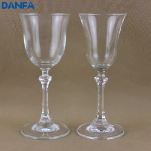 Goblets / Wine Glasses with Hexagonal Stems pictures & photos