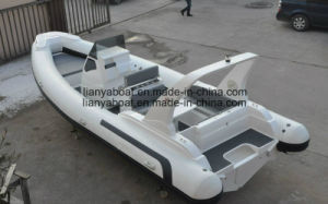 Liya 7.5m Hypalon Luxury Yacht Leisure Sport Boat China Made pictures & photos