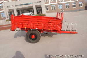 Small Trailer 7c-1.5y for Walking Tractor, Tiller Trailer pictures & photos