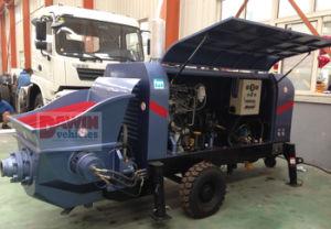 Diesel40m3/Hour Bigger Concrete Aggregate Pump Dawin pictures & photos