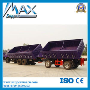 2016 New 3 Axles Detachable Side Wall Cargo Trailer Sale pictures & photos