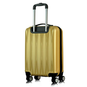Hard Shell 4 Wheel Suitcase ABS Luggage Trolley Case Luggage pictures & photos