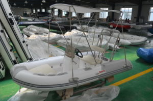 Inflatable Motor Boat (3.5m, fiberglass hull) pictures & photos