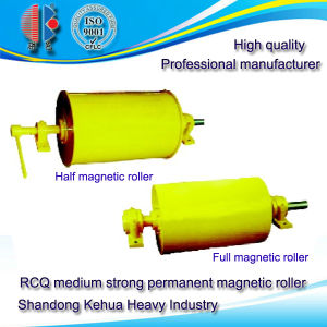 Rcq Medium Strong Permanent Magnetic Roller for Granular Material