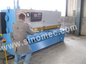 Metal Sheet Guillotine Shear Hydraulic Guillotine QC11k-4X2500 pictures & photos