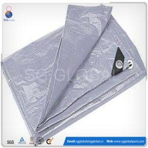 20X20 PE Woven Coated Rain Tarp for Car pictures & photos
