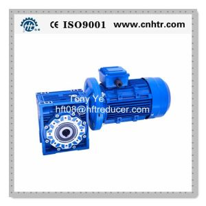 Hengfengtai Nmrv Series Worm Gearbox with Motor pictures & photos