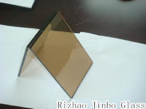 Laminated Building Glass Tinted Laminated Glass Color Coated Laminated Glass (JINBO) pictures & photos