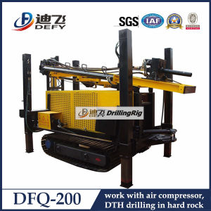 Crawler Mounted 200m Diesel Engine Ground Water Drilling Machine pictures & photos