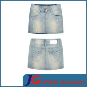 Women Wearing Jeans Mini Skirts (JC2107) pictures & photos