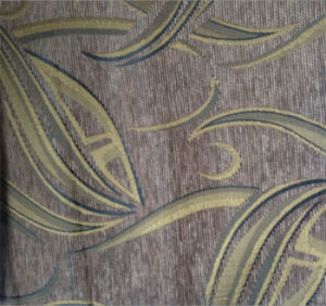 Leaves Pattern Chenille Sofa Fabric pictures & photos