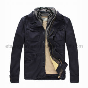 Winter Outdoor 100% Cotton Men′s Padding Jacket (MRDS806) pictures & photos