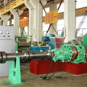 Pin-Barral Rubber Cold Feed Roller Head Extruder Machine for Pipe Extrusion Line